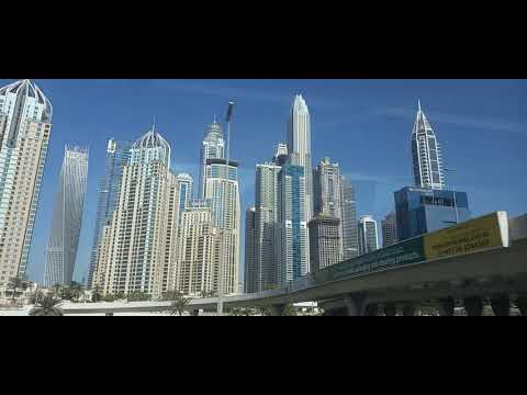 DUBAI MARINA ND BURJ AL ARAB