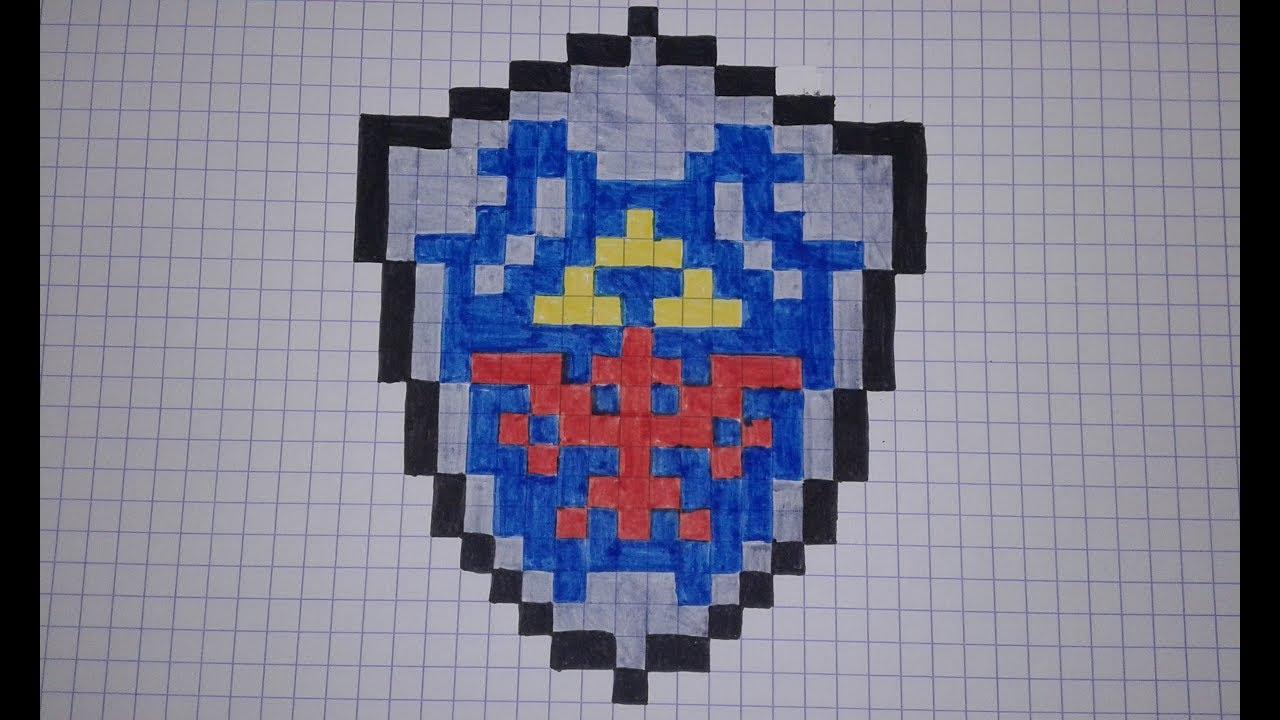 Zelda Bouclier Dhylia Speed Draw 35