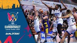 Italy v Sweden - Full Game - FIBA Women's EuroBasket 2019 - Qualifiers 2019
