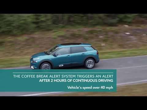 New C4 Cactus Hatch Coffee Break Alert & Driver Attention Alert