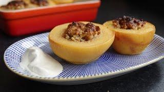 Десерт Беҳи дўлма - Айва фаршированая
