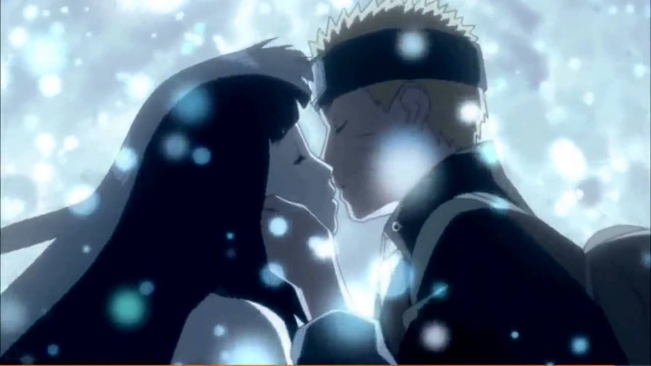 Anime kiss in bed scene