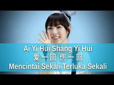 Ai Yi Hui Shang Yi Hui - 爱一回伤一回 - 王雅洁 Wang Yajie (Mencintai Sekali Terluka Sekali)
