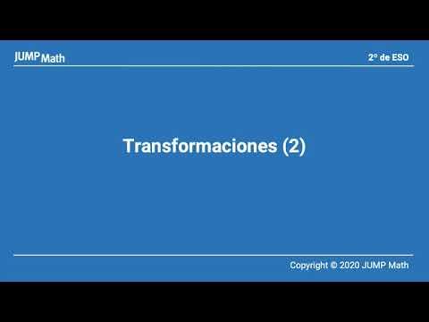 2. Unidad 9. Transformaciones II