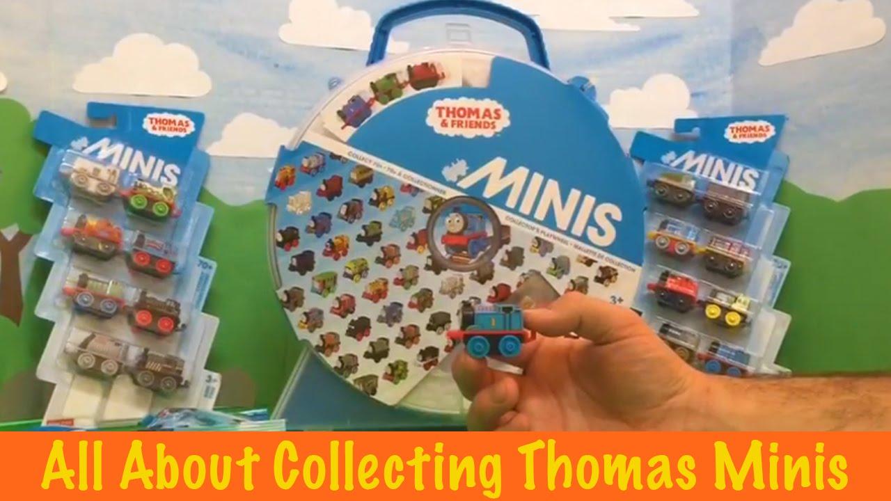 Thomas and Friends Minis, Blind Bags, Mini 8 packs, Mini 3 packs, and Minis Holder plus Play Wheel