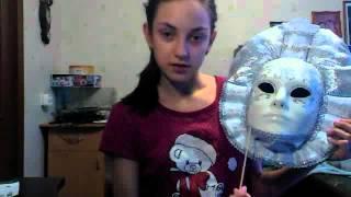 Подробный обзор венецианской маски №2