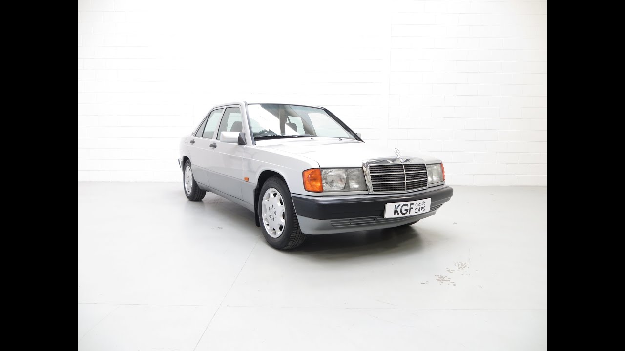 A First Class Mercedes Benz 190E W201 Auto with Full Service