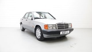 A First Class Mercedes-Benz 190E (W201) Auto with Full Service History and Just 55,860 Miles - SOLD!