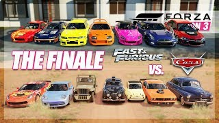 Forza Horizon 3 - THE FINAL LAST CHALLENGE! (F&F vs Cars Movie)