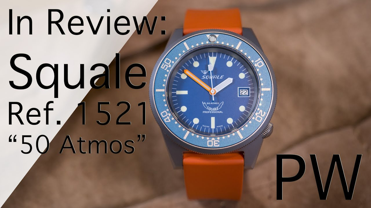 atmos youtube watches watch review squale
