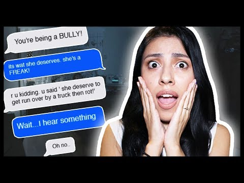 SHE HACKED HER BULLIES AND KILLED THEM! - Creepy Text Story - Hooked App
