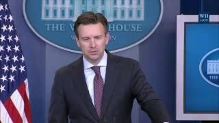 7/20/16: White House Press Briefing