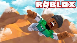 FALLING 9999 FEET IN ROBLOX