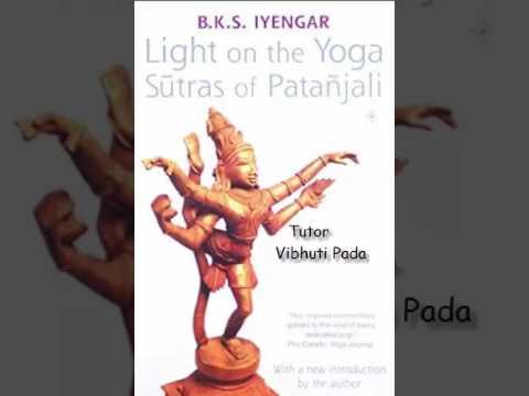 Patanjali Yoga Sutras   Tutor  Vibuthi Pada