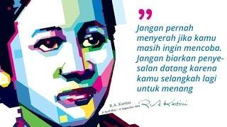Download Video Kata - Kata Mutiara R.A. Kartini ( Peringati 21 april 2017 ) MP3 3GP MP4
