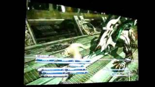 "Final Fantasy XIII (1080p) + Optoma HD65 + 70"" Screen"