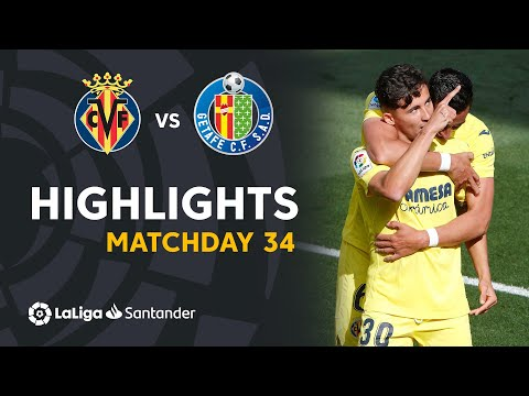 Villarreal Getafe Goals And Highlights