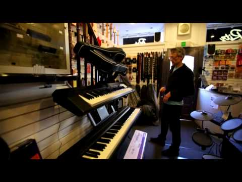 A guided tour of Ritz Music in Putney