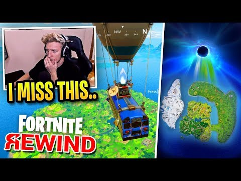 Tfue Reacts to The Fortnite Rewind