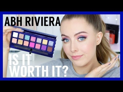 NEW Anastasia Beverly Hills Riviera Eyeshadow Palette | REVIEW, SWATCHES & TUTORIAL