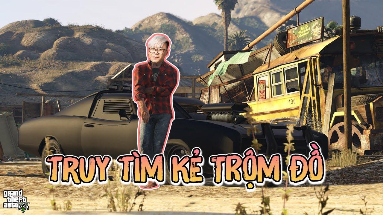 (GTA 5) Thợ săn David BeckBen truy lùng kẻ trộm đồ