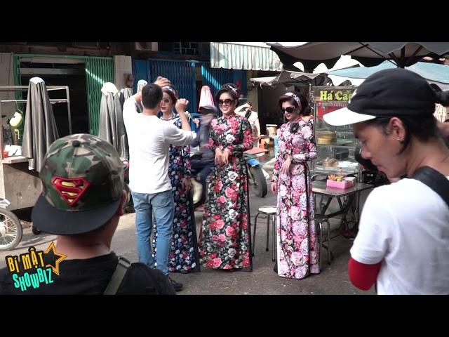 [8VBIZ] - Lê Phương, Thanh Trúc, Diệp Bảo Ngọc quậy tưng khi chụp áo dài Tết