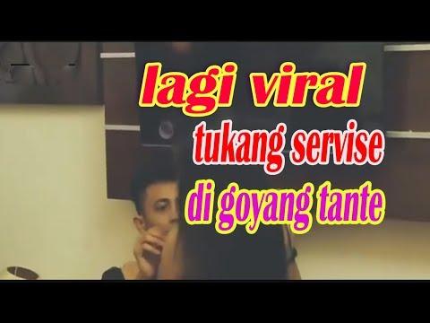 Viral..! Servis Tvled Di Goda Tante Seksi