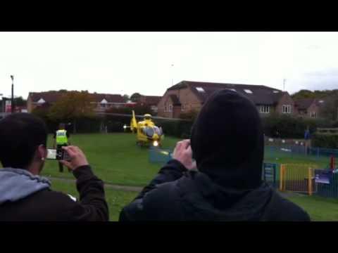 Air ambulance Stevenage