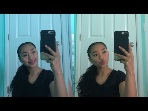 2 FRENCH BRAIDS TIED BACK HAIRSTYLE TUTORIAL