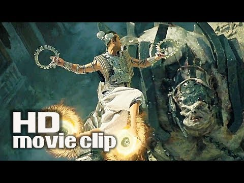 LEAGUE OF GODS (2017) Monster Commander FIGHT SCENE thumbnail