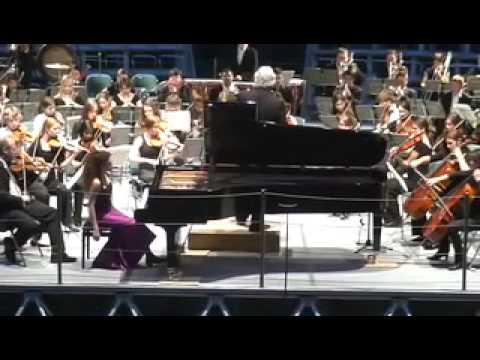 Hungarian Fantasy (Liszt) - Kiveli Dörken und das Jugendsinfonieorchester Dornbirn - Part 2