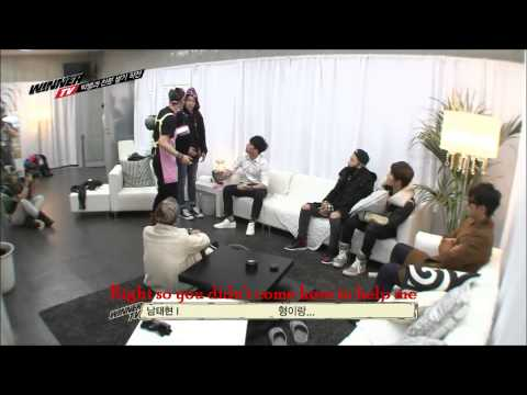 BIGBANG 빅뱅 with WINNER on WINNER TV 2013 Episode 6 and 7