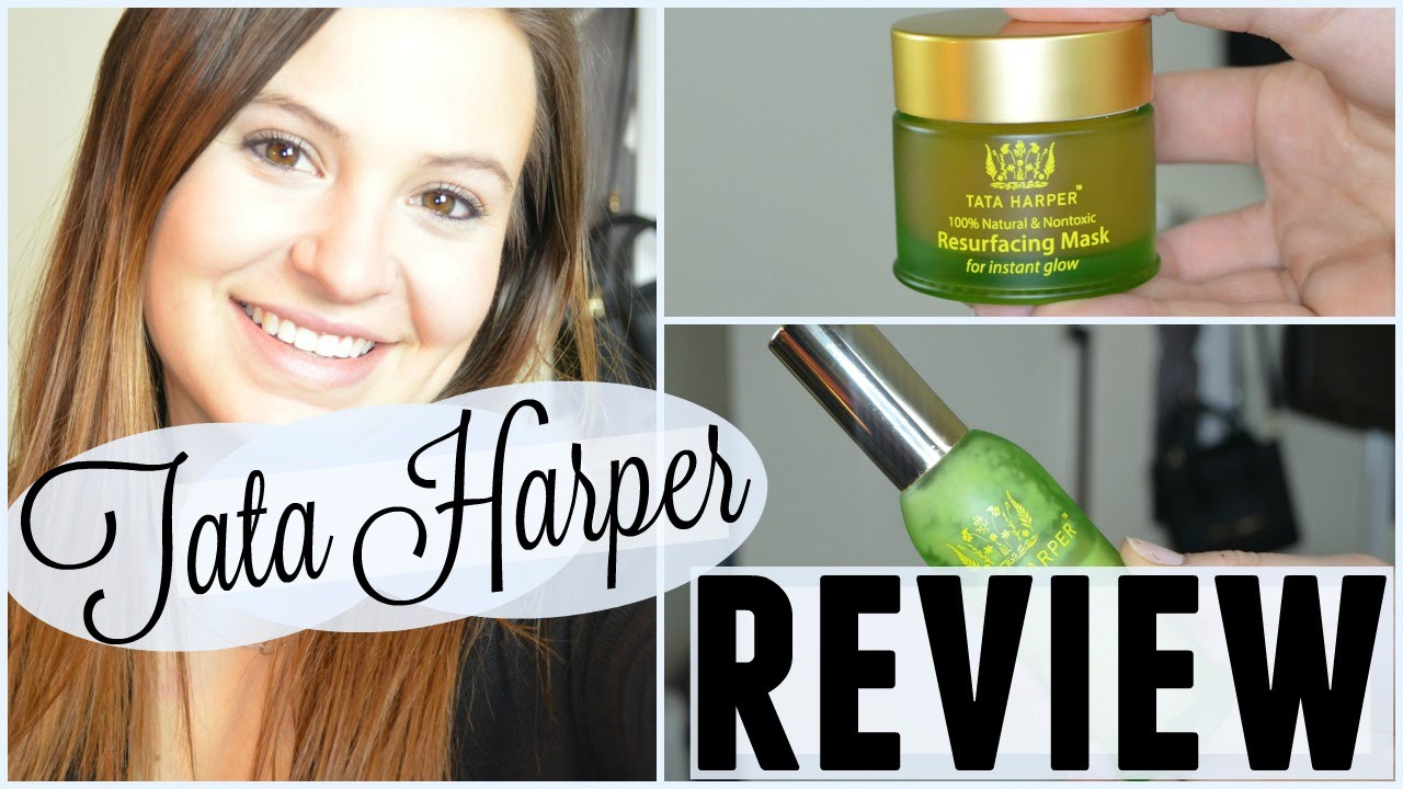 Tata Harper Review - Resurfacing Mask and Regenerating Cleanser ...