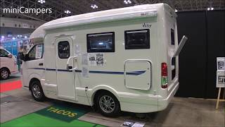 Japanese Camper - TACOS VERY 2018 キャンピングカー