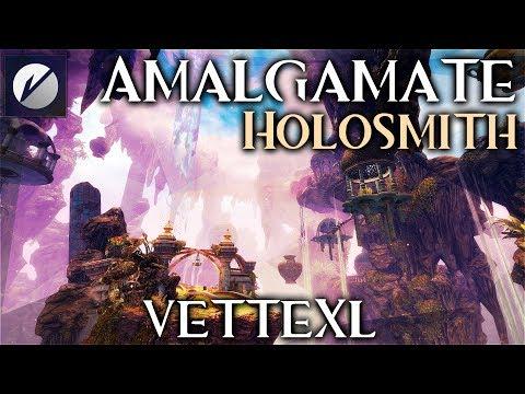 Guild Wars 2 Raid - Amalgamate - Holo
