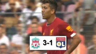 Ливерпуль - Лион 3-1 обзор матча