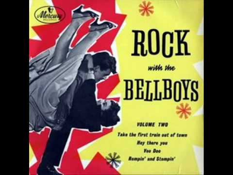 Freddie Bell And The Bellboys  GiddyUpA Ding Dong  1956
