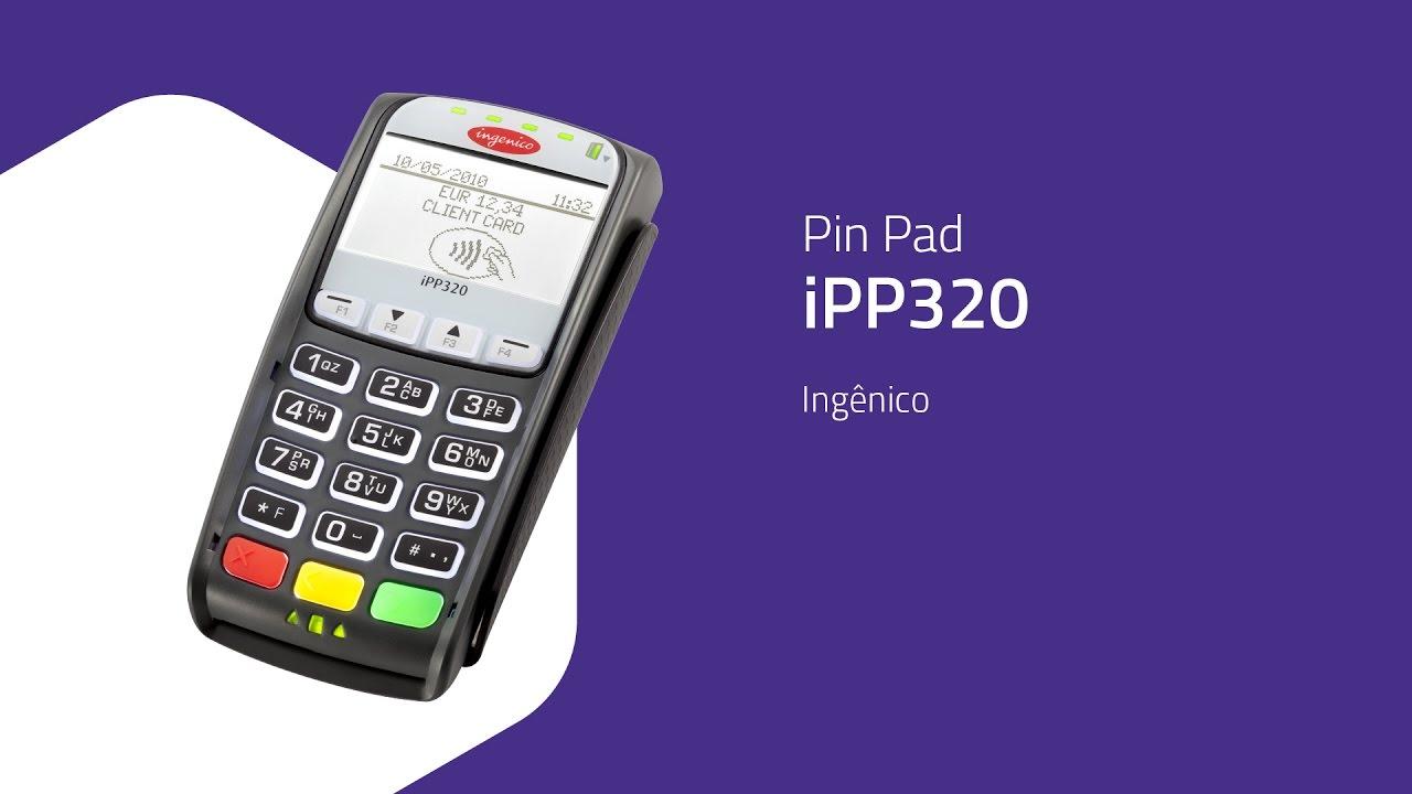 Pin Pad iPP320 - Ingênico - ZIP Automação