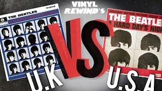 Vinyl Rewind - The Beatles A Hard Day's Night - UK Vs. USA