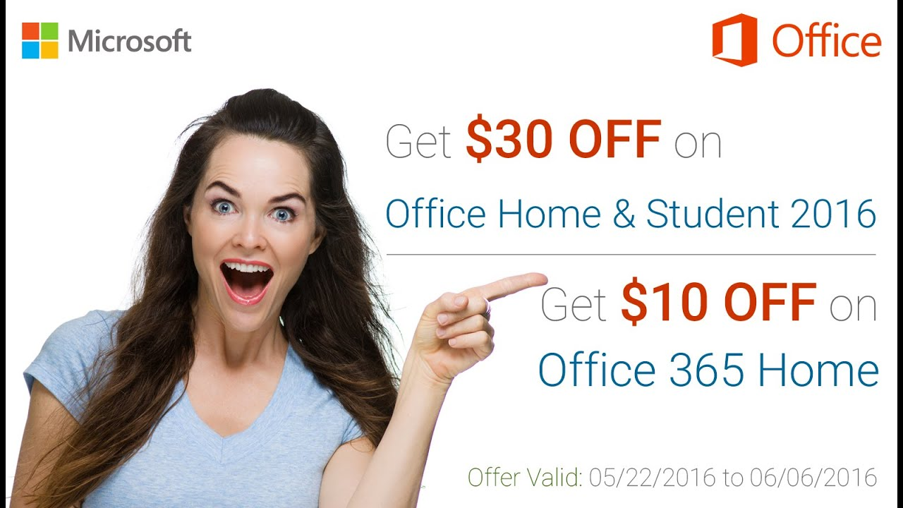 Office 2016 $30 Off - Microsoft Office Promo Code - YouTube