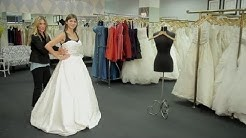 How to Put on a Wedding Dress or a Stock Bridal Gown : How to Dress for a Wedding