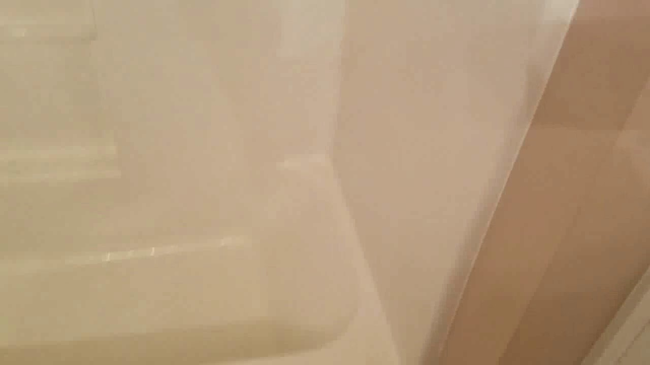 Tub shower combo replace part 1 - YouTube