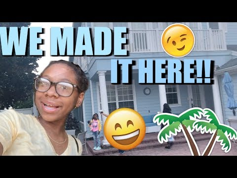 WERE IN ORLANDO FLORIDA!! | VACATION HOUSE TOUR VLOG