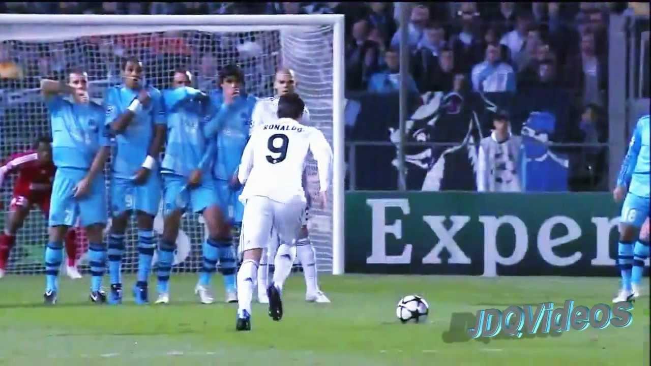 Mejor Gol de Tiro Libre de Cristiano Ronaldo - HD - YouTube