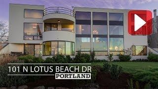 Portland Real Estate Homes For Sale - Video Tour 101 North Lotus Beach Drive, Hayden Island 97217