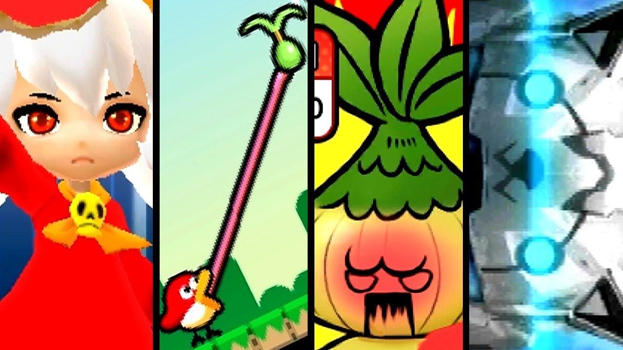 WarioWare Gold ALL SECRET MINIGAMES (3DS)