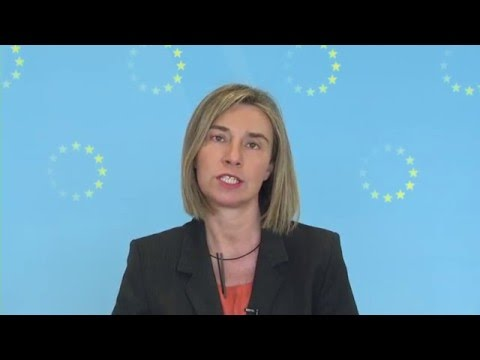 Video message by Federica Mogherini, High Representative for the Common Foreign and Security Policy