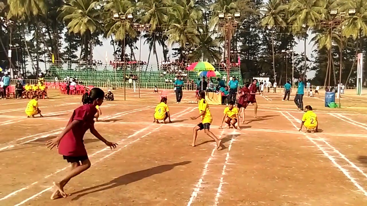 33rd Maharashtra state level KHO- KHO ( Palghar Vs Bid ) Girls team -  YouTube