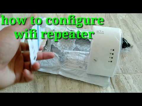 How To Configure WiFi Repeater Wireless-n WiFi / WiFi Extender And Setup Tutorial