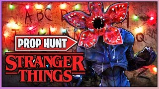 *NUEVO* STRANGER THINGS 3 PROP HUNT (FORTNITE MINIJUEGOS)